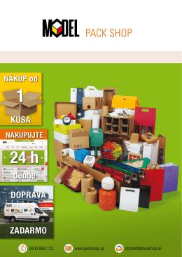Katalog Pack Shop