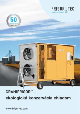 Prospekt GRANIFRIGOR™ (Dokument PDF - 3.6 MB)