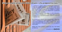 Noviny pre grafický priemysel do Vašich schránok a veľká