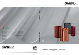 Cenník Creaton 2014