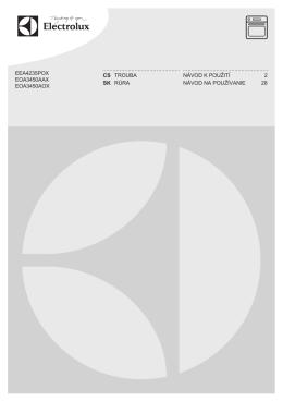 f=electrolux-eoa3450aox-navod-k-pouziti.pdf;eea4235pox eoa3450aax eoa3450aox cs trouba návod k