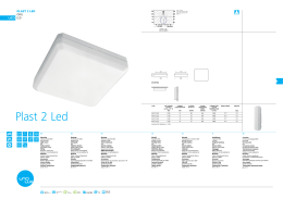 Plast 2 Led - OMS Product Database