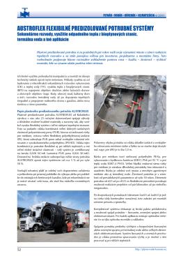Článok z Plynár-Vodár-Kúrenár 04/2011