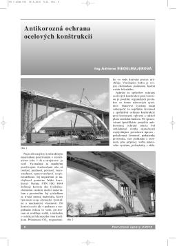 Antikorozná ochrana ocelových konštrukcií