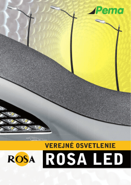 Katalóg LED svietidiel ROSA (SK)