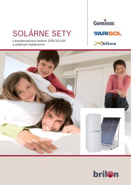 SOLÁRNE SETY s kondenzačným kotlom ZEM SOLAR a