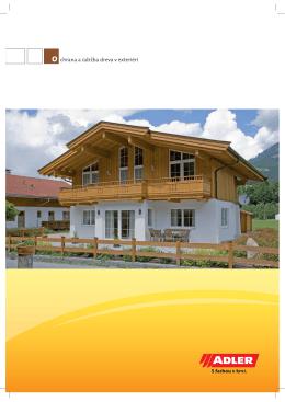 chrana a údržba dreva v exteriéri