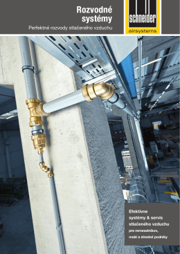 Rozvodné systémy - Servis kompresorov