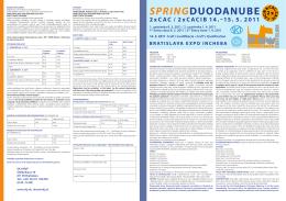 SPRINGDUODANUBE 2xCAC / 2xCACIB 14.–15. 5. 2011