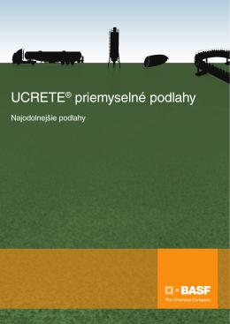 UCRETE® priemyselné podlahy