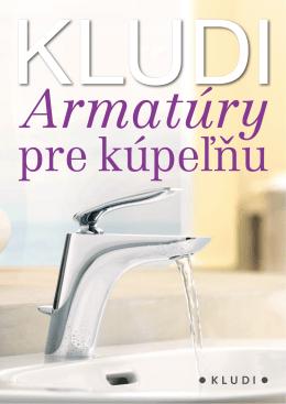 KLUDI – Armatúry pre kúpeľňu