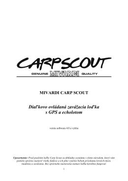 CARP SCOUT