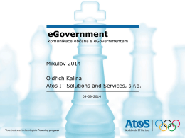 Atos - Egovernment
