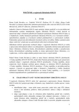 Poucenie o registroch Zdruzenia SOLUS_schvalene 13 1 2012
