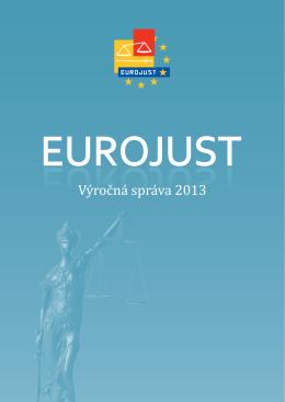 Výročná správa 2013 - Eurojust