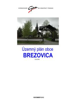 Územný plán obce Brezovica