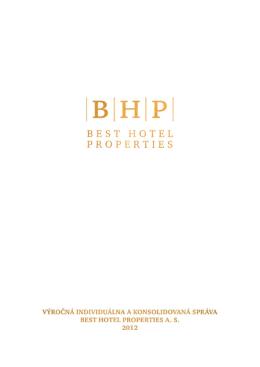 Výročná správa BHP 2012 - Ako