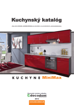 Kuchynský katalóg