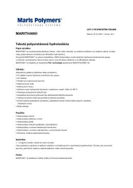 Marithan - polyurethanesystems.sk