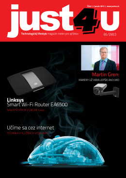 DOWNLOAD Magazín Just4U – január 2013