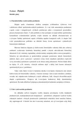 Dejepis - ZŠ Hroncova 23