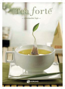TEA FORTE katalog 2012 - SK - CS4