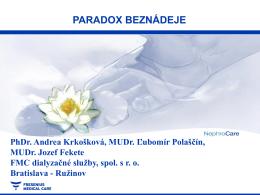 PARADOX BEZNÁDEJE Podbanské 2012 NOVÉ 2