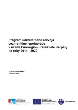 Program udržateľného rozvoja cezhraničnej spolupráce v