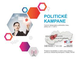 POLITICKÉ KAMPANE