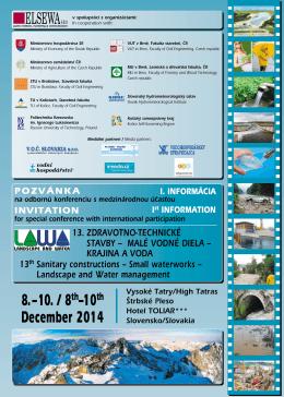 8.–10. / 8 –10 December 2014