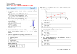 Test - Potenciálna_energia_pružného_telesa
