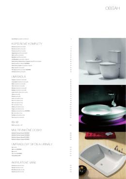 kúpeľňové komplety umývadlá w+w multifunkčné dosky