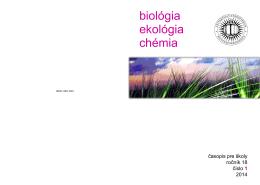 ročník 18, 2014, č. 1, ISSN 1338-1024