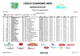 CZECH DIAMOND MEN