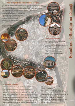 Komárno, Gibraltár na Dunaji