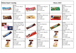 Globus Import katalóg Marec 2015