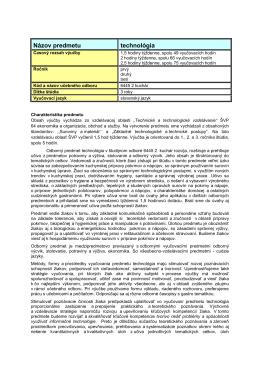 Dodatok k ŠKVP64C-oas-TEC