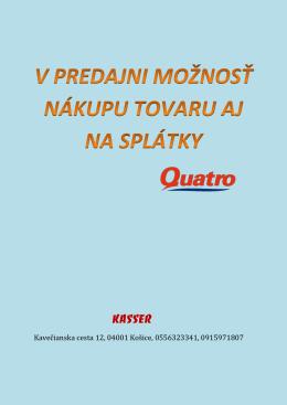 Kavečianska cesta 12, 04001 Košice, 0556323341, 0915971807