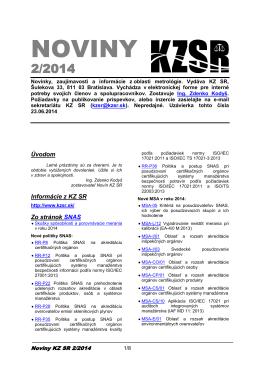 Noviny KZSR