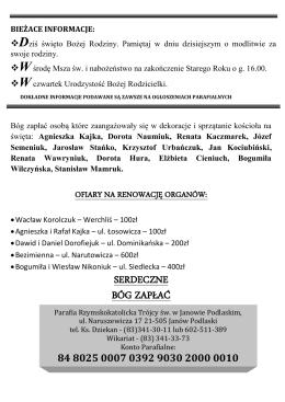 Pobierz 52 Nr Gazetki z 28.12.2014 r. (PDF)