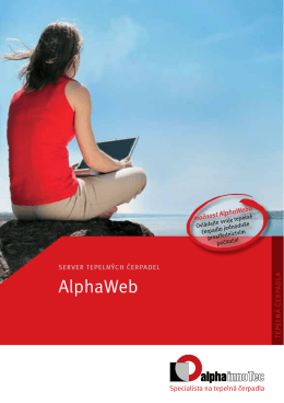 více k funkci AlphaWeb - Alpha