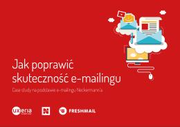 Jak poprawić skuteczność e-mailingu