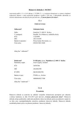 Návrh - Základná škola Staničná 13 Košice