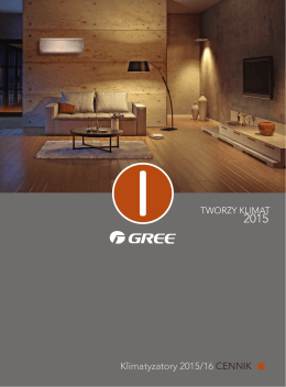 Cennik GREE 2015