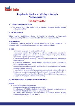 Nauczyciel Paulina Talar Przedmiot język angielski