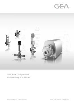 GEA Flow Components Komponenty procesowe 2.5 MB, 602pl, 01