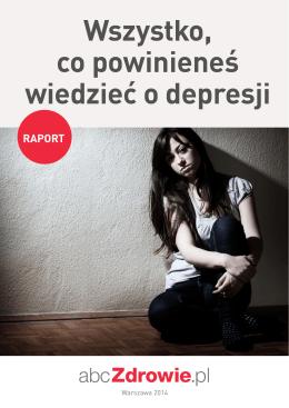 Wszystko, co powinieneś wiedzieć o depresji