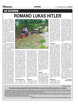Romano Lukas Hitler
