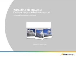 Wirtualne elektrownie - Polska na progu rewolucji