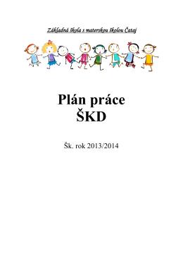 Analýza činnosti ŠKD 2012/2013 - Základná škola s materskou